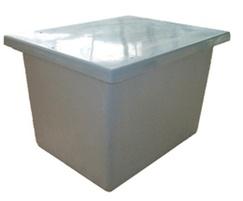 One piece GRP chemical storage tank