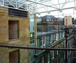Cop Crag sandstone, The Rutland Building, Edinburgh