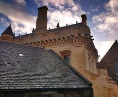 Stirling Castle Great Hall stone restoration