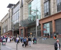 Catcastle Grey, Buchanan Galleries, Glasgow