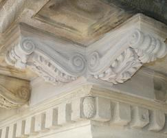 McEwan Hall Edinburgh double corbel bracket
