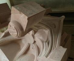 Scottish Portrait Gallery restoration, CNC cut masonry