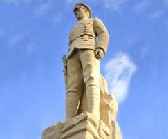 Finished War Memorial, Coundon Durham