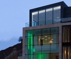 Dunhouse Buff cladding for The Cube, Leith St Edinburgh