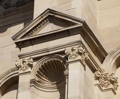 McEwan Hall Edinburgh carved Capitals