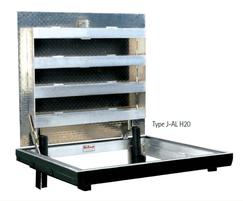 Type J-AL H-20 aluminium single-leaf floor door