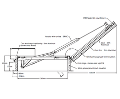 Bilco type ESW-50REM & ESS-50REM smoke vent