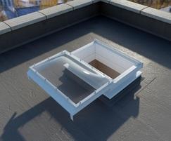 SKY-1M smoke ventilator and skylight with sliding cover