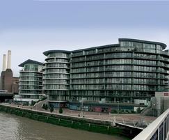 Automatic smoke vents, Chelsea Bridge high rise housing