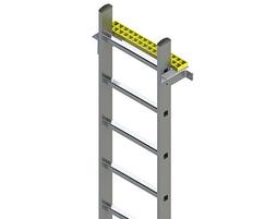 Fixed vertical ladder
