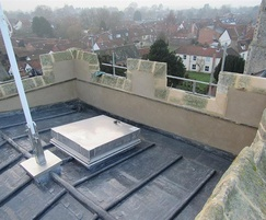 VersaMount® roof access hatch for a medieval church
