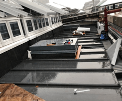 Islamic gallery roof hatches installation
