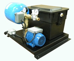 ES1000 Open single pump pressurisation unit.