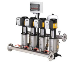 CKE Twin pump variable speed booster set c/w SV pumps.