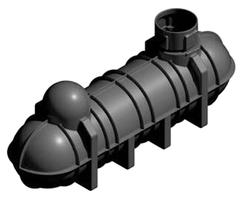 1800 4400ltrs underground tanks