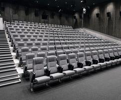 Cinema with Paragon 755 fully upholstered cinema seats