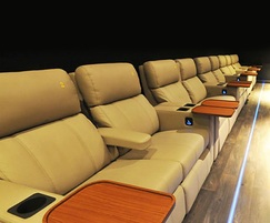 Verona Zero Wall reclining seats at Bromborough Odeon