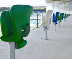 Ferco FCB-M stadium and sports seats at Windsor Park