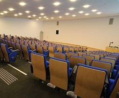 Ferco FT10 Wrimatic Seating in lecture theatre