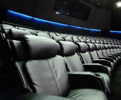 Luxury auditorium seating - Reel Cinema, Dubai