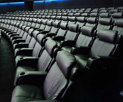 Ferco cinema seating installation in Dubai