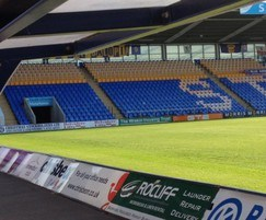 Stadium seating for Shrewsbury Town FC