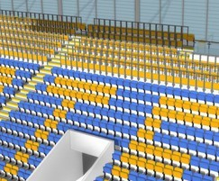 RailSeat creates safe standing at football stadium