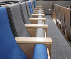 The Caspian is a modern, sophisticated auditorium seat