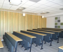 Athena lecture room seating for tiered, sloping room