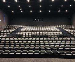 Verona Lite Zero Wall seats for one of the Imax cinemas