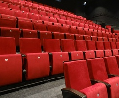 Primera Beaufort seating for Aberystwyth Arts Centre