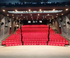 The theatre has 311 seats and is the largest in Wales