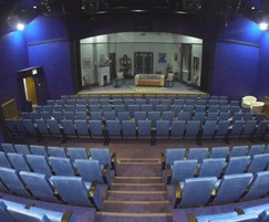 Renovated theatre seating for The Miller Centre