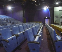 The theatre has 186 seats (96 raked)