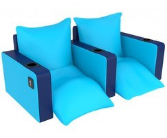 Ariel lounger cinema seat