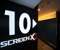 ScreenX, at Golden Screen Cinemas (GSC) in Malaysia