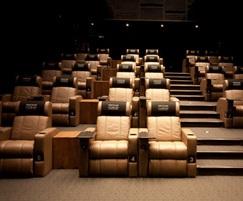 Luxury cinema seating