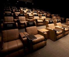 Luxury seating for Korean cinema