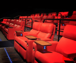 Ferco Verona reclining chairs for premium cinema areas