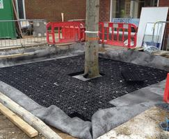 ArborRaft can be designed to fit any tree pit size