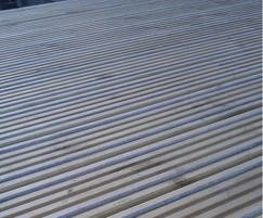 Q-Grip® slip-resistant, retrofit decking strips