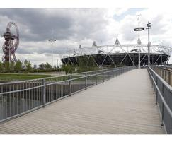 Decking for F09 bridge in London 2012 Olympic Park