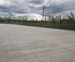 Decking for F02 bridge in London 2012 Olympic Park