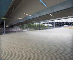 Decking for U07 underpass in London 2012 Olympic Park