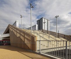 T12 temporary bridge, London 2012 Olympic Park