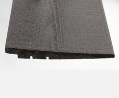 Image 6Q Clad® pre painted, black rebated timber claddi