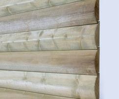 Q-Garden pre-treated timber loglap cladding