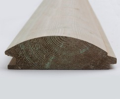 Q-Garden Pre-treated Timber Loglap Cladding 44 x 144mm