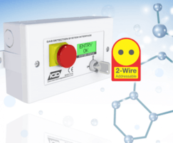 2 wire addressable room status indicator