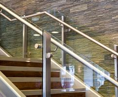Feature staircase, Radisson Blu Hotel, Bristol